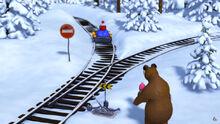 03 Маша Медведь и Дед Мороз