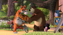20 Маша Медведь и Тигр 4