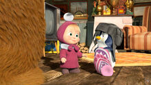 32 Маша и Пингвинёнок