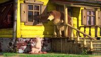 74 Медведь и Розочка