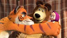 20 Маша Медведь и Тигр 2