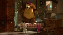 38 Зайка, Медведь и Маша