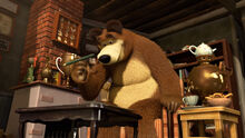 13 Медведь