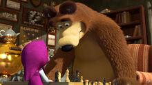 28 Медведь и Маша