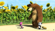 15 Маша Медведь и Панда