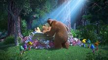 42 Маша Медведь и Медведица Белоснежка