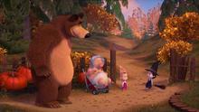 86 Медведь, Розочка, Маша и Ведьма