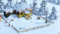 04 Дом Маши зимой
