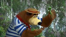 54 Медведь и Лягушка 2