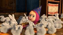 25 Маша и волшебные зайцы