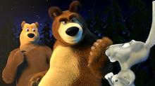 46 Зайка, Медведь и Медведица
