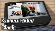 仮面ライダーBlack 仮面ライダーBlack 8bit