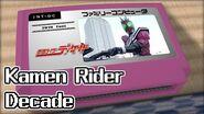 Journey through the Decade 仮面ライダーディケイド 8bit