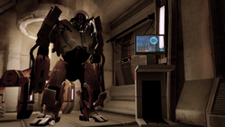 Sabotaging the heavy mech will yield an advantage in the upcoming battle