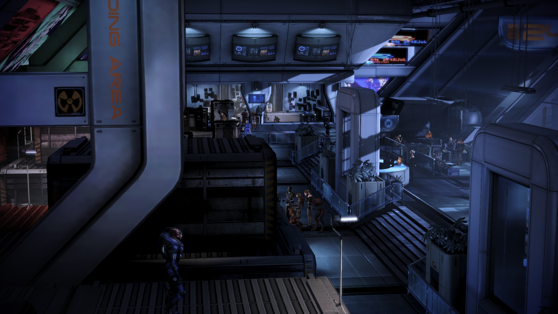 Docks: Wartebereich
