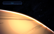 MassEffect поверхность Сатурн