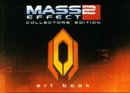 Mass Effect 2 Collector Edition Art Book portada