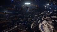 Union Fleet fight for Earth