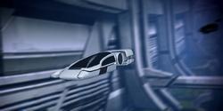 A shuttle using a mass effect field