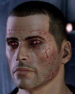 Abtrünnig verursacht Gesichts-Narben in Mass Effect 2