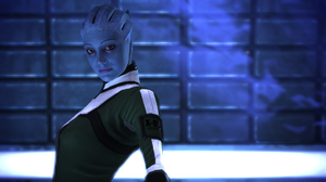 Liara in the Prothean bubble