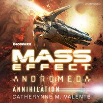 Mass Effect Andromeda Annihilation portada audiolibro