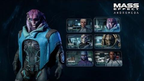 MASS EFFECT ANDROMEDA Combat Profiles & Squads Official Gameplay Series - Part 2