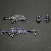 Оружие м-15,м-29(Гаррус).
