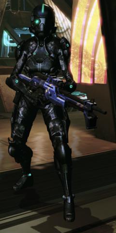 CAT6-Scharfschützin
