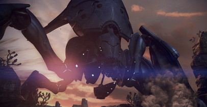 ME3 Destroyer reaper