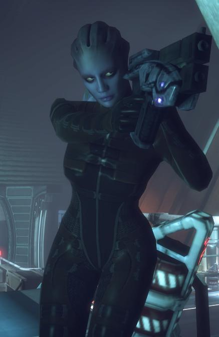 Asari-Kommando-Kriegerin