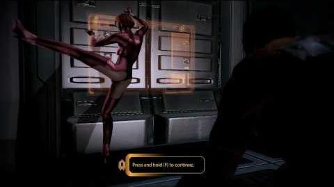 Kelly Chambers - Booty Call Mass Effect 2
