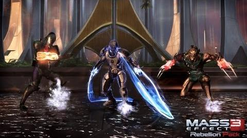 Mass Effect 3 Rebellion Pack Trailer