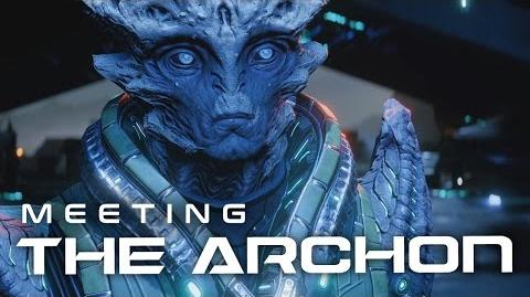 Mass Effect Andromeda Meeting the Archon