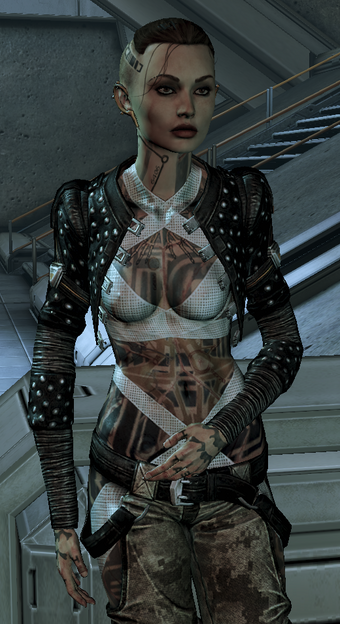 Jack Mass Effect Wiki Fandom