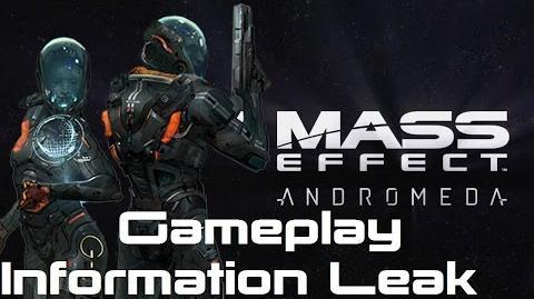 Mass Effect Andromeda Gameplay Information Leak