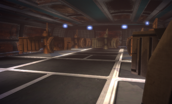 The VI Core rooms.