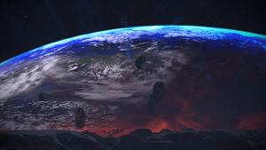 Terra Nova from Asteroid X57