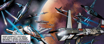 Fighting over Shanxi in Mass Effect: Evolution