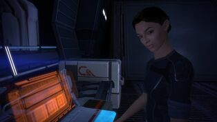 Ashley williams mass effect on the normandy by loraine95-d4qjdfo.jpg