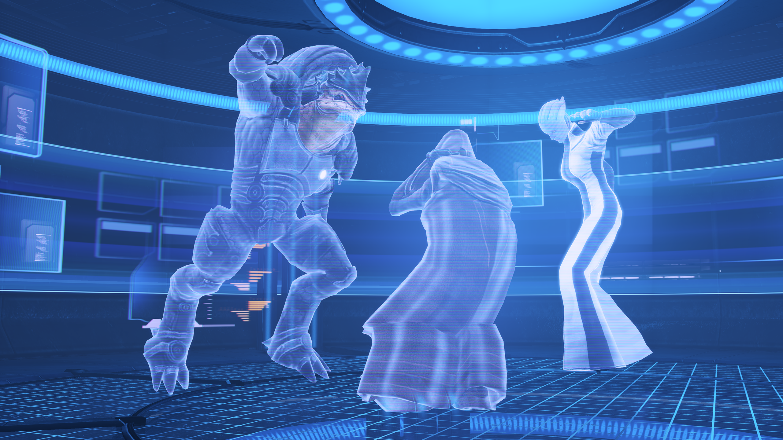 Citadel Archives - year 700 CE, Krogan Rebellions, attack on Council, vault K306.png