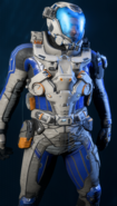 MEA Armadura explorador espacio profundo 02