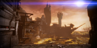 Terrain challenge for the Hammerhead