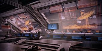 Hermes Station control room