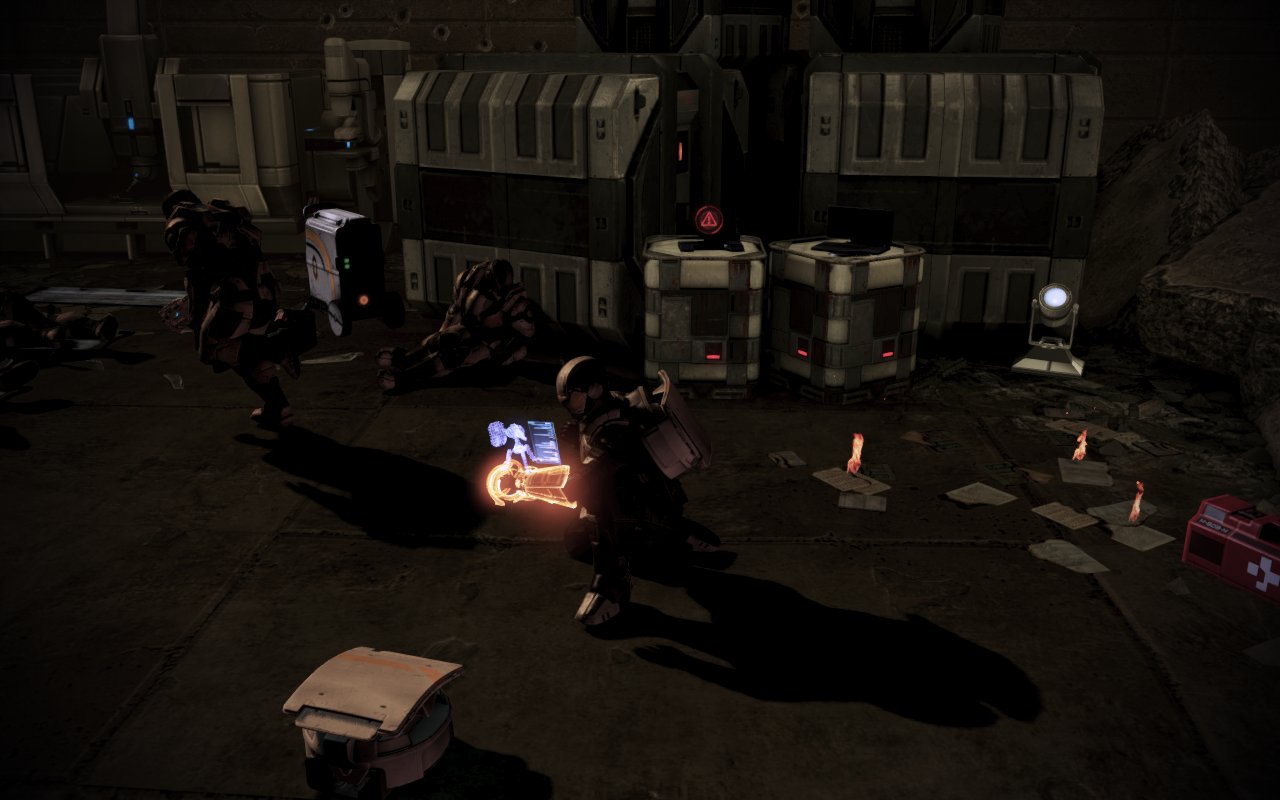 Citadel: Steuerungspläne für automatische Geschütze von Cerberus