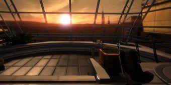 Shepard's Apartment on Intai'sei has a nice view
