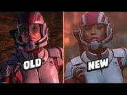 Mass Effect Legendary Trailer vs Originals, Side By Side Comparison