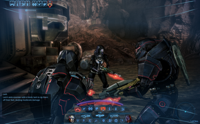 The ME3 HUD on PC has few differences from its ME2 counterpart