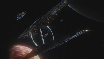 The Nexus and 3 Arks of the Andromeda Initiative
