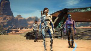 MEA Pic Ryder, Cora, Liam & Peebee vor dem Eingang des Eos-Gewölbes.jpg